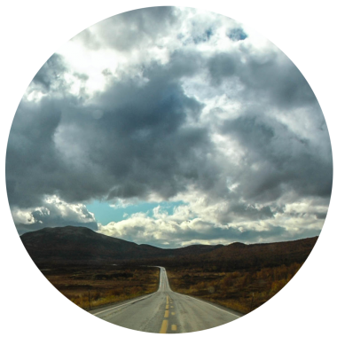 Norge-vej-cirkel